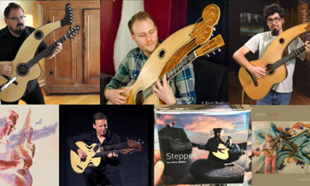 New Harp Guitar Players, Builders and Music, Part 1