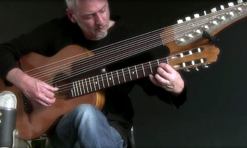 So who exactly IS Brin Addison and why is he suddenly Harp Guitarist of the Month?