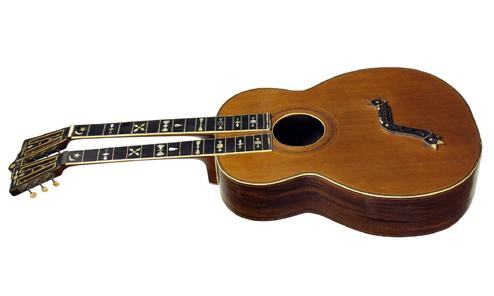Walton's c.1900 Baritone Harp Guitar