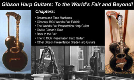 Gibson Harp Guitars: To the World's Fair and Beyond!