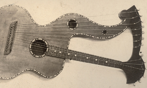 Harp Guitars in the Stearns Collection