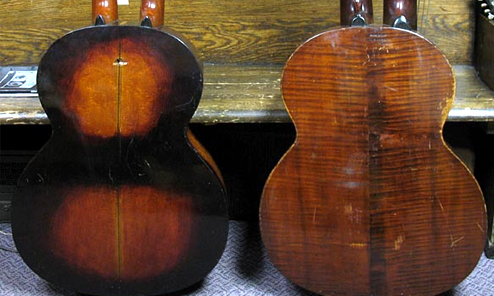 Bohmann's Contra Bass Harp Guitars