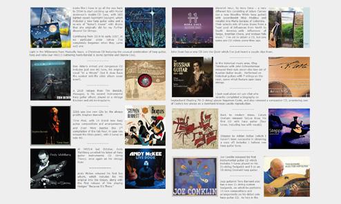 Recent Harp Guitar Albums