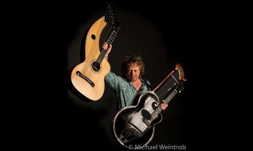 Tom Shinness Harp Guitar Memories