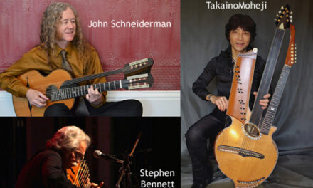 The 15th Harp Guitar Gathering is Coming!