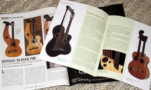 Harp Guitars in the News