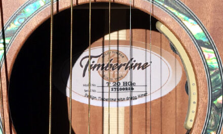 Announcing the new Timberline Harp Guitar
