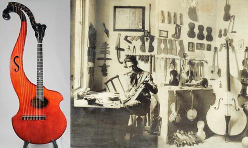 Milanese Master Luthier Luigi Galimberti