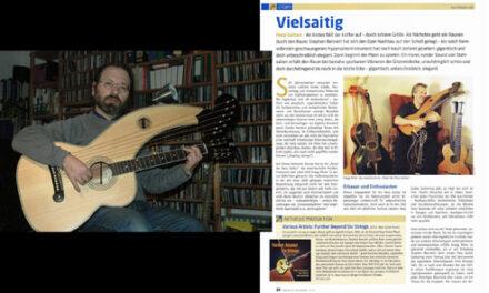 Akustik Gitarre Magazine Harp Guitar Time Capsule