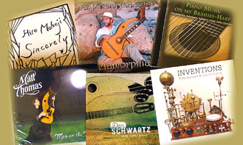 Recent Harp Guitar CDs