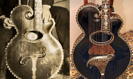 Gibson Harp Guitar No. 5703 Lost and Found