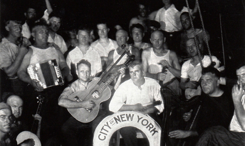 First Harp Guitar to the South Pole Wins