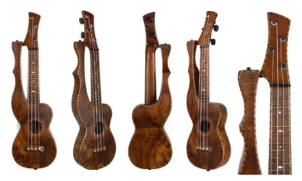 HU45 – the Fancier Fanciest Known Knutsen Harp Ukulele