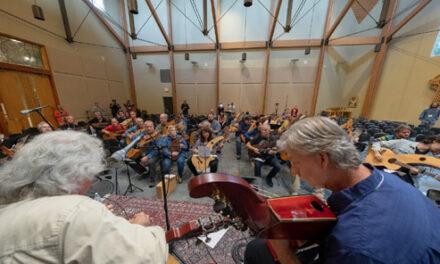 Harp Guitar Gathering #17, North Carolina, USA by Tommy Loose