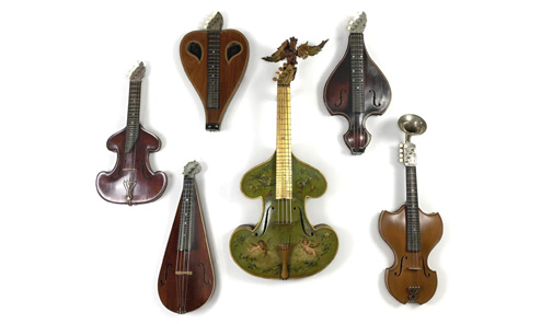 The Weird and Wonderful World of Bowed Zithers