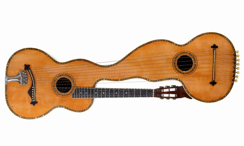 The Paul Gardie/Harmony Orchestral Harp Guitar