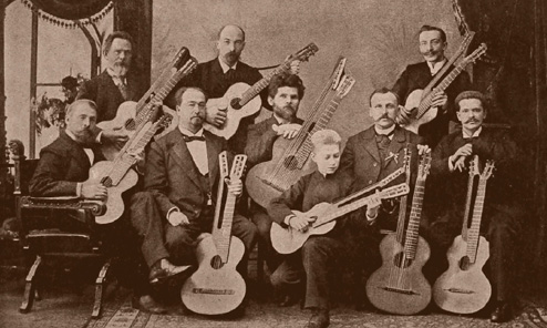 From Russia with Love: Harp Guitars, Part 1