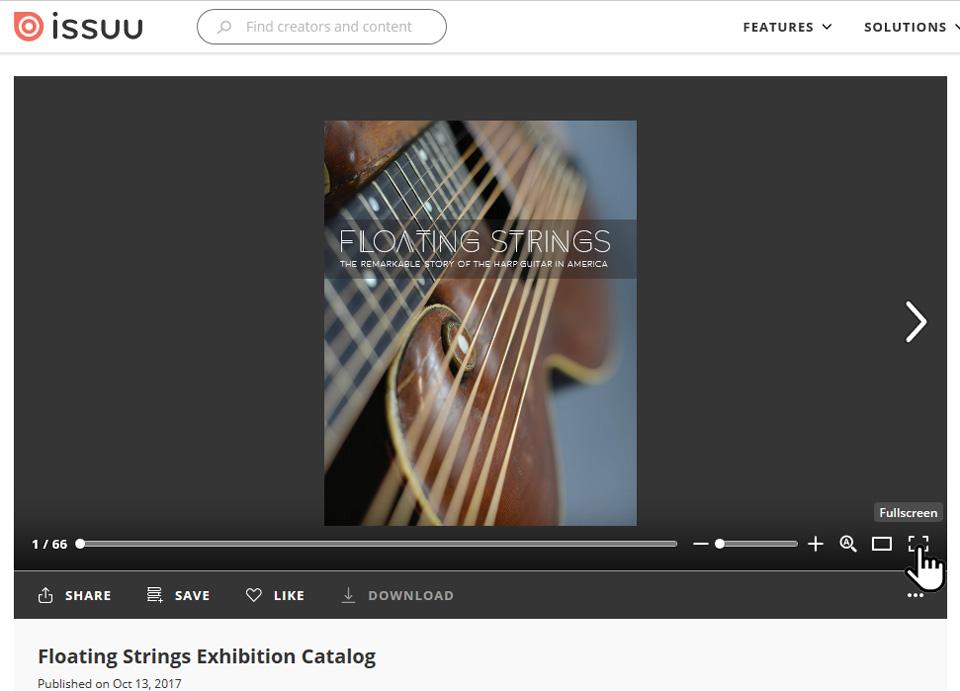 floating-strings
