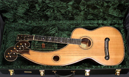 The Travels and Travails of Merrill Harp Guitar #14