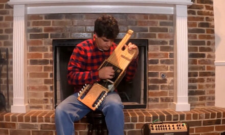 The Cigar Box Stoessel Lute and Other Stringed Inventions
