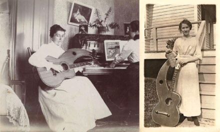 Women in Harp Guitar History: Dyer and Knutsen Players