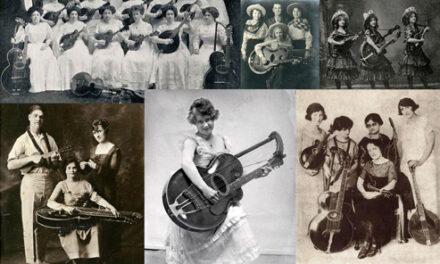 Women in Harp Guitar History: Gibson Gals