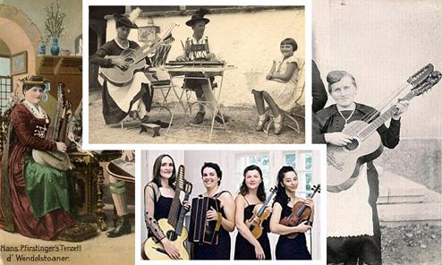 Women in Harp Guitar History: Schrammel Players