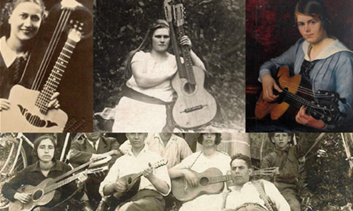 Women in Harp Guitar History: Italy and Beyond