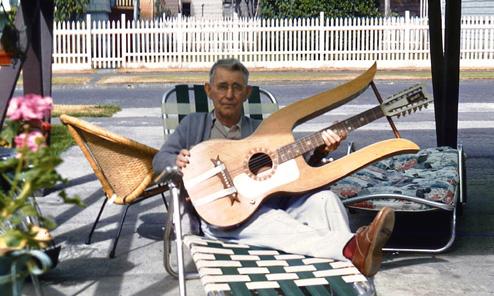 The Behee Lyric Harp Guitar